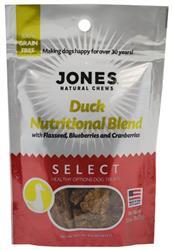 Jones Select Nutritional Blend Duck 3.5 Oz.
