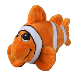 Tender-Tuffs Tiny - Orange Clownfish - Small Breed Toy