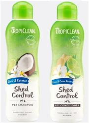 Tropiclean Shed Control Shampoo & Conditioner