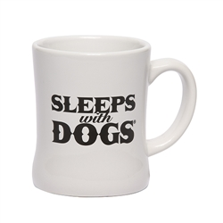 BARKOLOGY® SLEEPS WITH DOGS® MUG