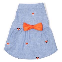 Foxy Chambray Dress