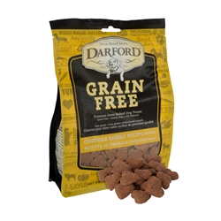 Cheddar Cheese MINIS Grain Free Baked Dog Treats by Darford