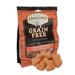 Salmon Grain Free Baked Dog Treats by Darford