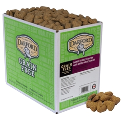 Turkey Grain Free Baked Dog Treats by Darford