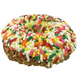 Yellow w/ Jimmies Gourmet Doughnut