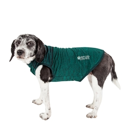 Pet Life® ACTIVE 'Aero-Pawlse' Heathered Quick-Dry and 4-Way Stretch-Performance Dog Tank Top T-Shirt