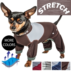 Dog Helios 'Tail Runner' Lightweight 4-Way-Stretch Breathable Full Bodied Performance Dog Track suit