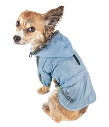 Dog Helios 'Torrential Shield' Waterproof Multi-Adjustable Pet Dog Windbreaker Raincoat
