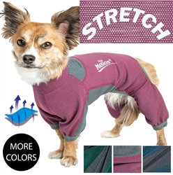 Dog Helios 'Rufflex' Mediumweight 4-way-Stretch Breathable Full Bodied Performance Dog Warmup Track suit
