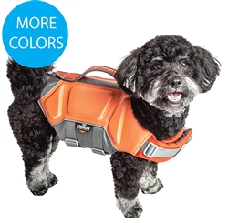 Dog Helios 'Tidal Guard' Multi-Point Strategically-Stitched Reflective Pet Dog Life Jacket Vest