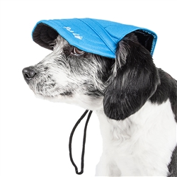 Pet Life® 'Cap-tivating' UV protectant Adjustable Fashion Dog Hat Cap