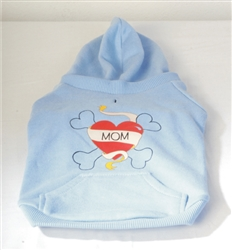 "HOODED SWEATSHIRT ""MOM"""