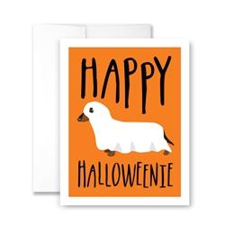Happy Halloweenie - Pack of 6 cards