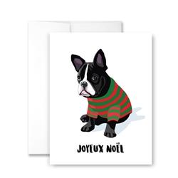 Joyeux Noel - Pack of 6 cards