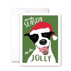 Tis the season to be Jolly - Pack of 6 cards