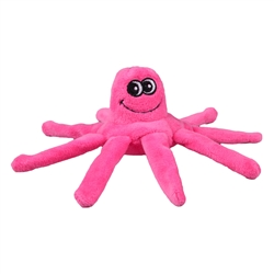 Tender-Tuffs Tiny - Pink Octopus - Small Breed Toy