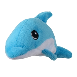 Tender-Tuffs Tiny - Blue Dolphin - Small Breed Toy