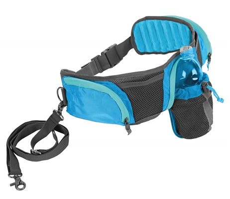 Outward Hound Hands Free Hipster Blue