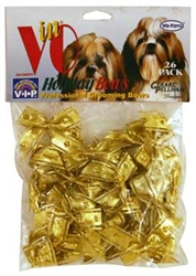 HOLIDAY SPARKLES / GOLD BOWS 26 PACK