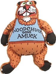 Petstages Wood Chuck Gone Amuck Dog toy- While Supplies Last