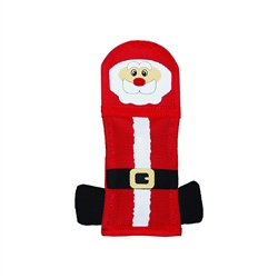 Outward Hound Firebiterz Santa Holiday Toy for Dogs- While Supplies Last