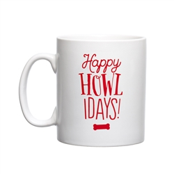 Happy Howlidays Holiday Mug
