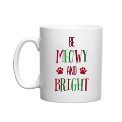 Be Meowy & Bright Holiday Mug