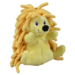 Tender-Tuffs Tiny - Yellow Hedgehog - Small Breed Toy
