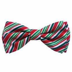 Candy Cane Bow Tie by Huxley & Kent