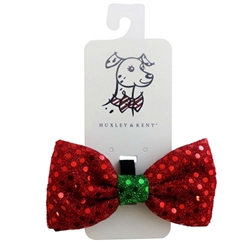 Huxley & Kent - Red Disco Dot Bow Tie