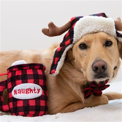 Buffalo Check Trapper Hat with Snug Fit by Huxley & Kent