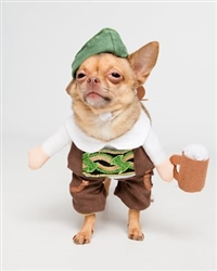 Pet Krewe Oktoberfest German Beer Dog Costume