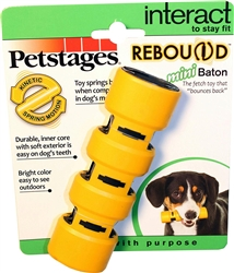 Petstages Rebound Mini Baton Dog Toy- While Supplies Last