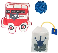 Petstages Britain Kitten Value Pack Catnip Filled Cat Toys- While Supplies Last