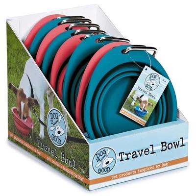 Dog is Good® Travel Bowl 8pk (26oz. bowls)