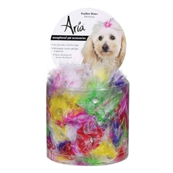 Aria Feather Bows - Canister of 100 bows