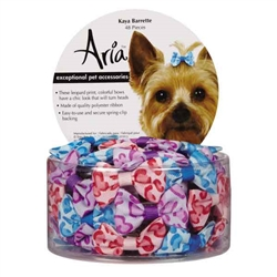 Aria Kaya Dog Barettes - Canister of 48