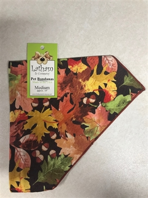 Pretty Leaves Bandana