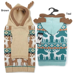 Zack & Zoey® Elements Antler Sweater