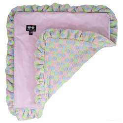 Blanket- Pink Lotus and Ice Cream or  Customize your Own