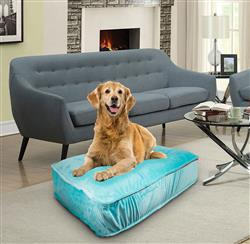 Sicilian Rectangle Bed Aqua Marine or Customize your Own