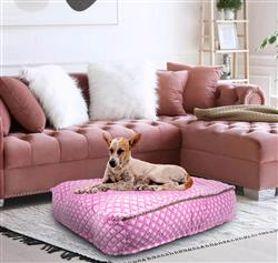 Sicilian Rectangle Bed Pink It Fence or Customize your Own