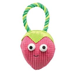 Grriggles® Happy Fruit Rope Tug Strawberry