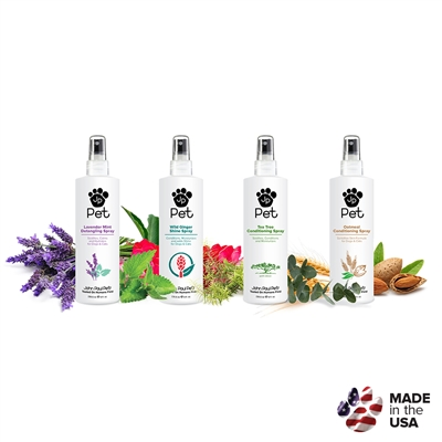 John Paul Pet Products 8 oz. Spray Quick Order Form - Mix & Match 12 items per case