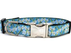 Daisy Collar Silver Metal Buckles