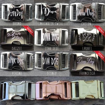 Boho Morocco Collar Silver Metal Buckles