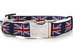 London Calling Collar Rose Gold Metal Buckles