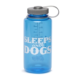 BARKOLOGY® SLEEPS WITH DOGS® NALGENE® WATER BOTTLE - ROYAL BLUE