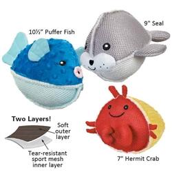 Grriggles® Aquadudes Dog Toys
