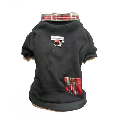 Tartan Trim Sweatshirt